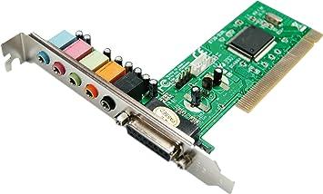 Eminent PCI Soundcard 5.1 Interno 5.1channels PCI - Tarjeta ...