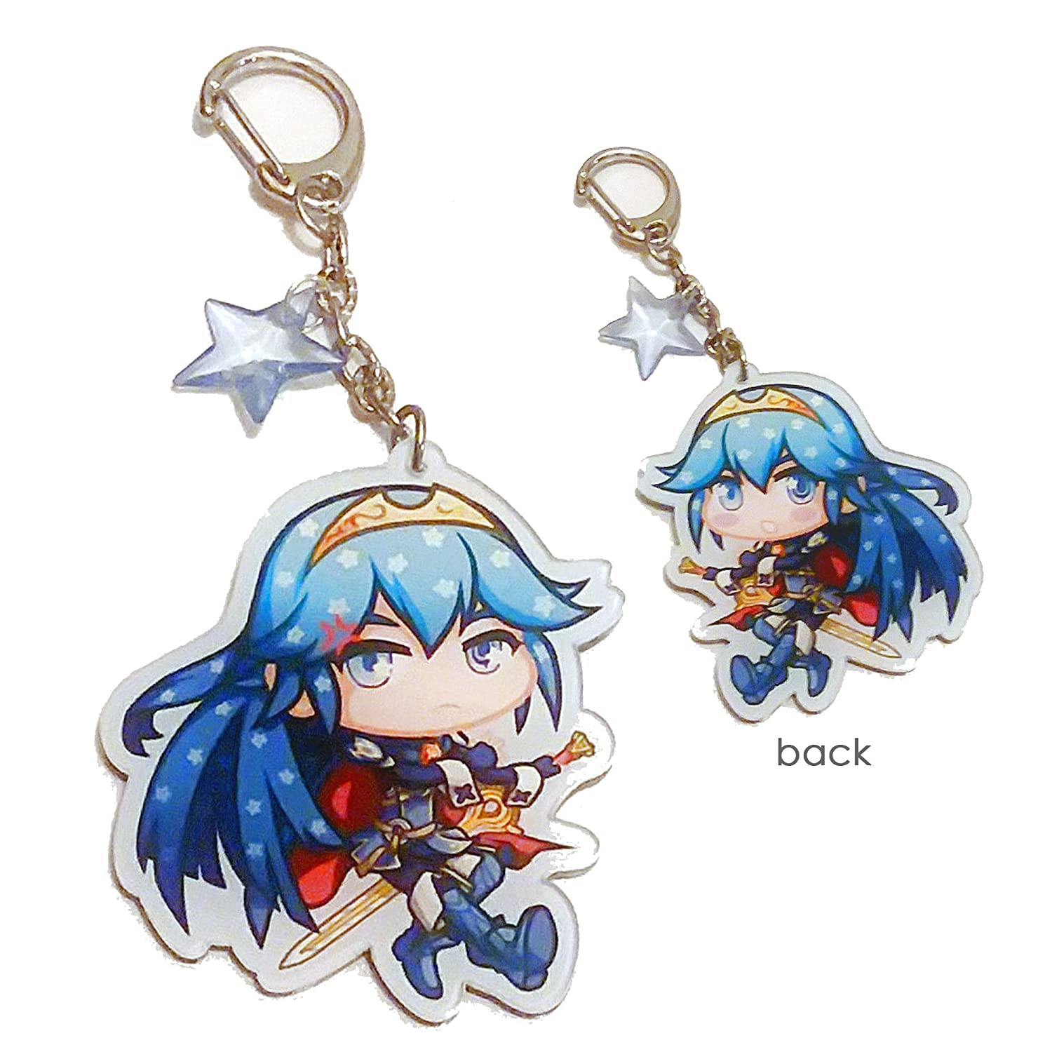 Amazoncom Lucina Fire Emblem Keychain Office Products