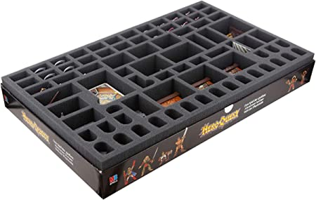 Feldherr Foam Tray Set Compatible with HeroQuest Board Game Box: Amazon.es: Juguetes y juegos