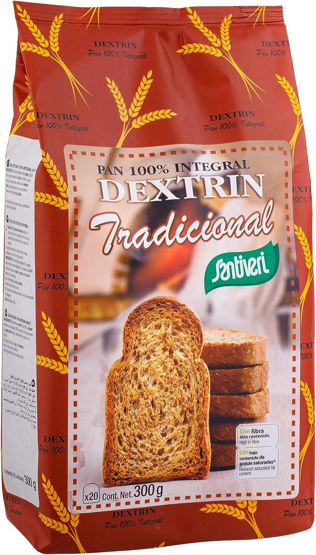 SANTIVERI Pan Dextrin Tradicional, 300 Gramos: Amazon.es ...