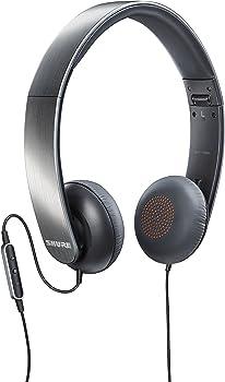 Shure SRH145M+-E On-Ear Wired Headphones