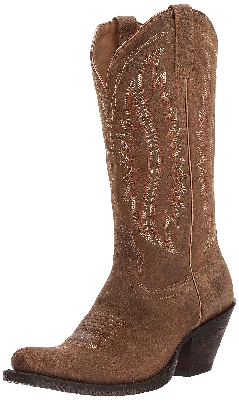 Ariat Women's Circuit Salem Western Boot B076MFKJDN 11 B(M) US|Textured Tan