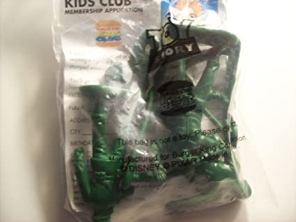 Amazon Com Army Men From Toy Story Burger King Kids Meal