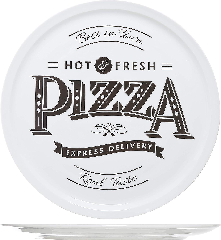 Blanco 30 cm Cosy /& Trendy 4562420/hot-fresh Pizza plato cer/ámica
