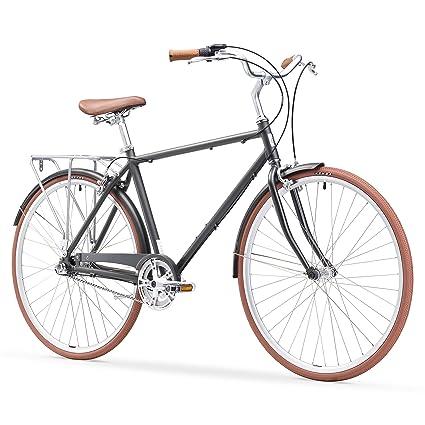 09703564b510c9 sixthreezero Ride In The Park Men's 3-Speed Touring City Bike, 700x32c  Wheels/