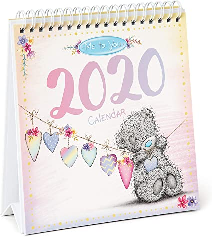 Me to You Tatty Teddy Calendario de escritorio 2020: Amazon.es ...