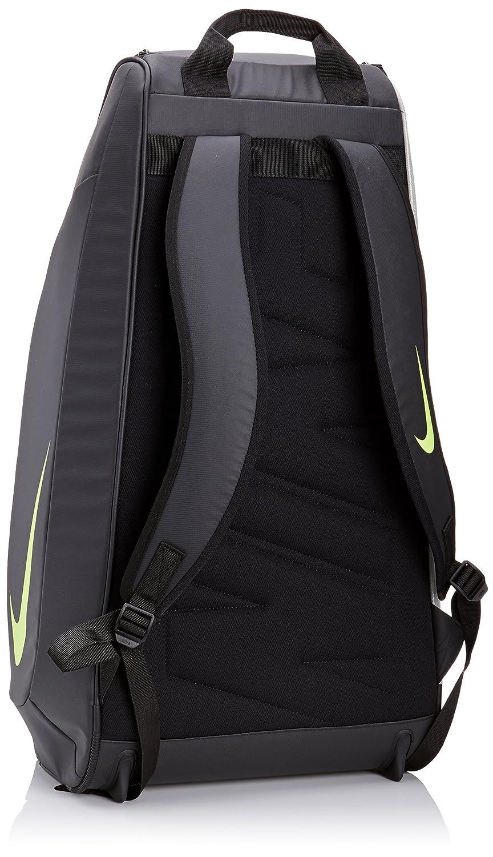 db5c1392cdce Nike Men s Court Tech 1 Backpack - Black Metallic Silver Volt