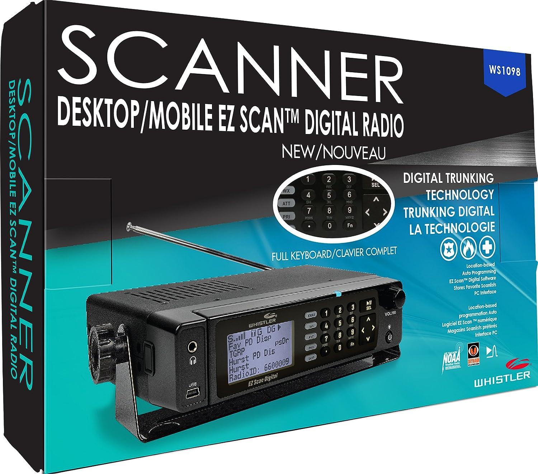 Amazon.com: Whistler WS1098 Desktop Digital Scanner: Home Audio ...