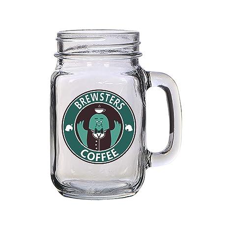Amazon.com: Taza de cristal con diseño de monstruo de ...