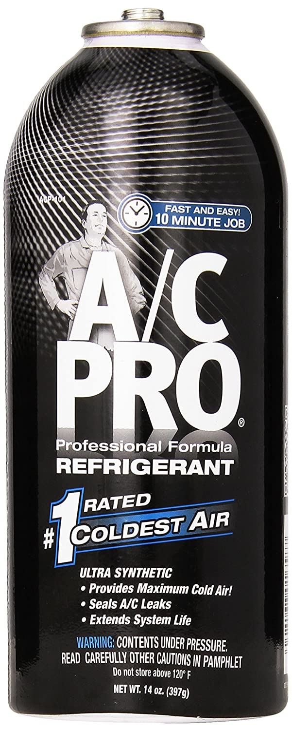 A/C PRO (ACP-102) PRO Professional Formula R-134a Ultra Synthetic Air Conditioning Refrigerant Refill - 12 oz. Interdynamics ACP102-6