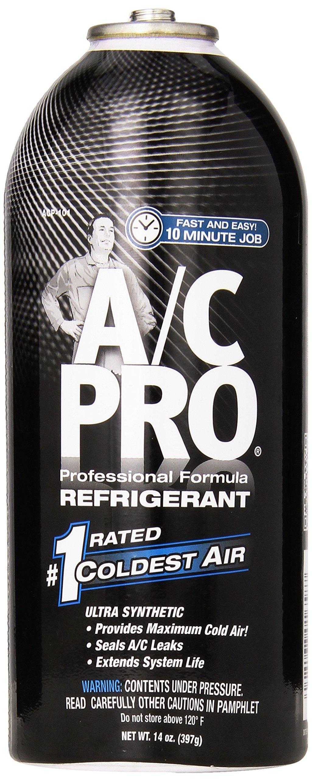 Interdynamics A/C PRO ACP-101 R-134a Ultra Synthetic A/C Refrigerant Refill (14 oz)