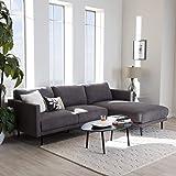 Pleasing Amazon Com Willa Arlo Interiors 3 Seater Black Velvet Sofa Inzonedesignstudio Interior Chair Design Inzonedesignstudiocom