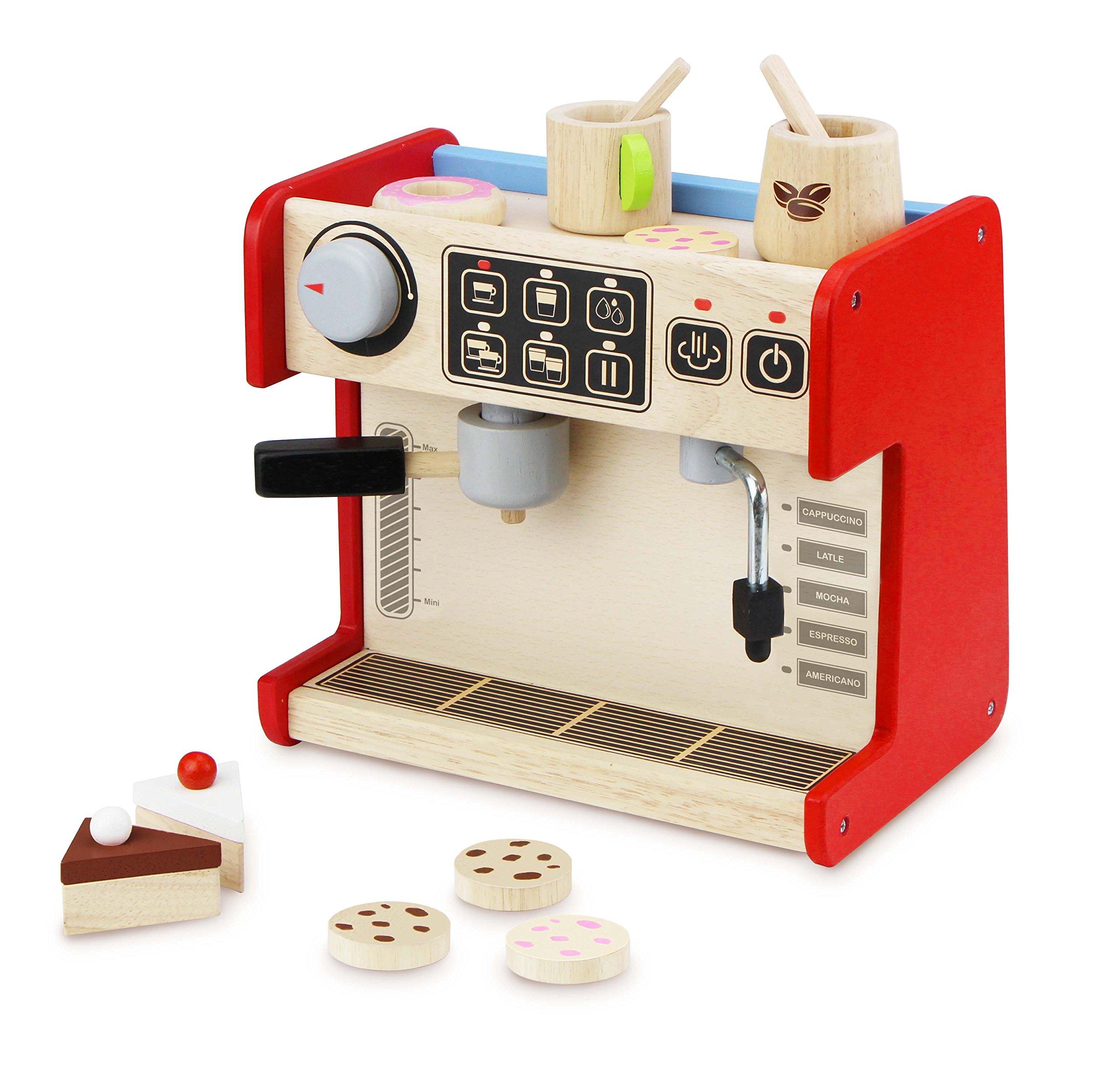 Wonderworld All-in-1 Coffee Shop Pretend Play Toy with Accessories by Wonderworld
