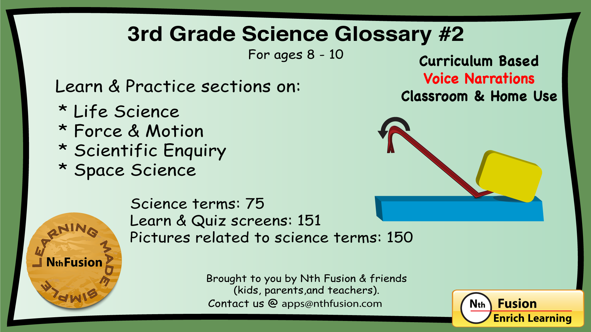 3rd grade science glossary 2 learn and practice interactive worksheets for home use and in. Black Bedroom Furniture Sets. Home Design Ideas