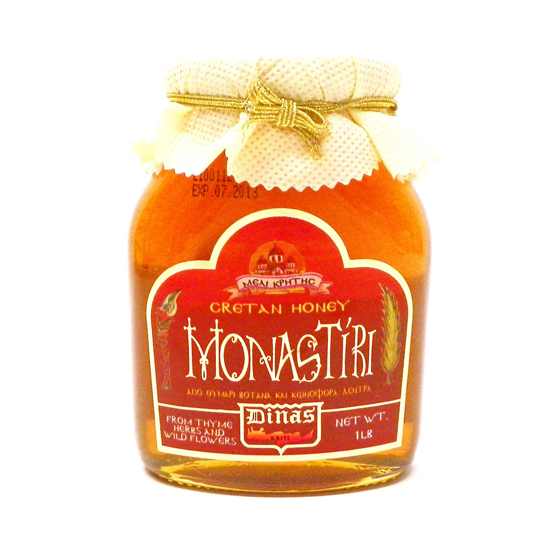 Dinas Greek Monastiri Wilflower and Thyme Honey, 16oz