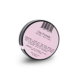 Firsthand Supply Clay Pomade Travel Size - Clean & Non-toxic Hair Care Ingredients - Long Lasting & Easy to Restyle - 1oz (29ml)