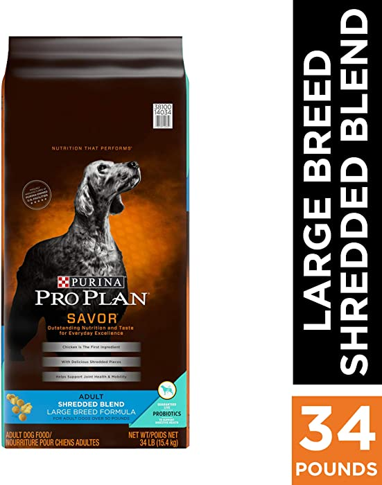 Top 9 Purina Pro Plan Dry Dog Food Large Breed
