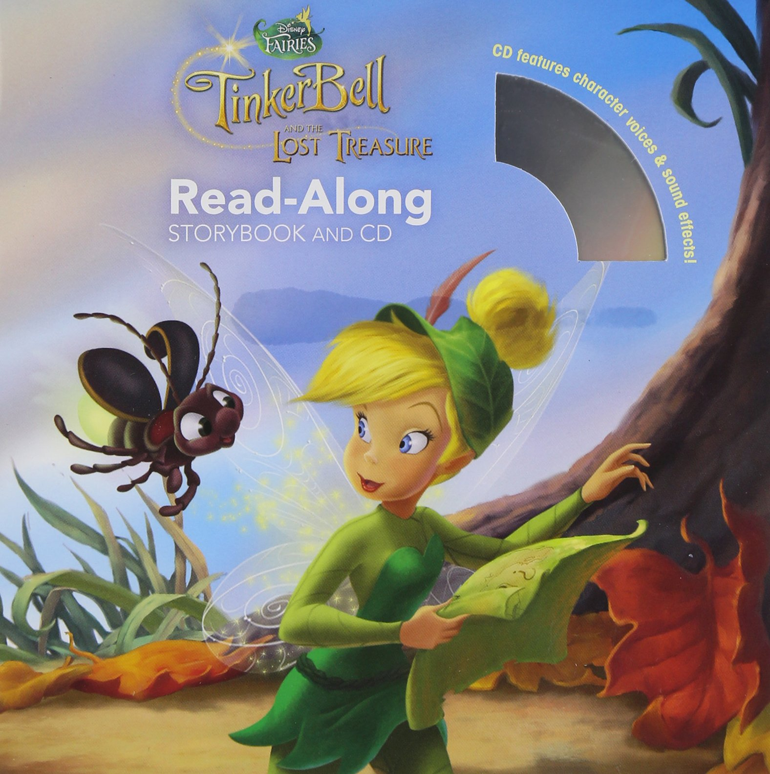 Tinker Bell and the Lost Treasure Read-Along Storybook and CD by Disney Press