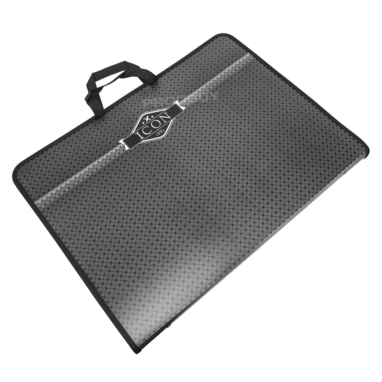Icon A3 Black Professional Artist//Business Portfolio Ring Binder Storage Case