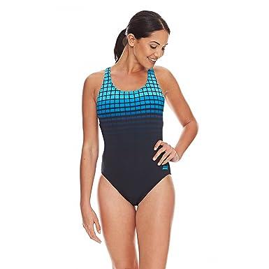 erstaunliche Qualität klassischer Chic 100% Zufriedenheit Zoggs Damen Badeanzug -Darwin Actionback- Schwimmanzug ...