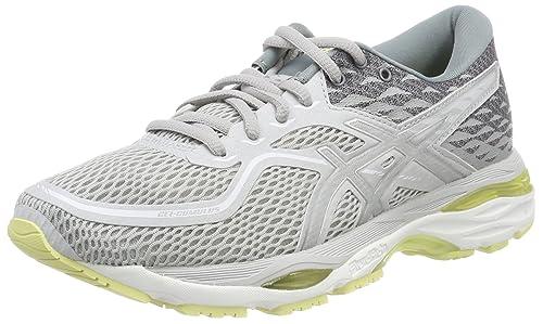 Gel-Cumulus 19, Zapatillas de Running para Mujer, Multicolor (Black/Porcelain Blue/White 9014), 43.5 EU Asics
