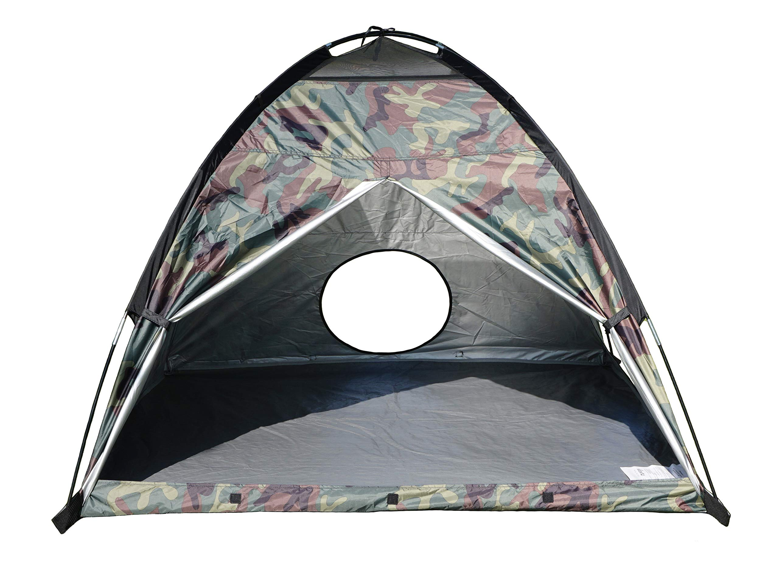 NARMAY Play Tent Camouflage Dome Tent for Kids Indoor / Outdoor Fun - 60 x 60 x 44 inch by NARMAY (Image #7)
