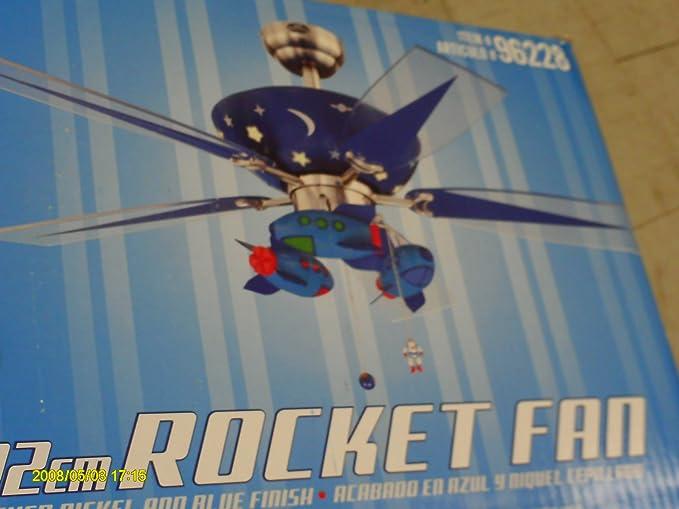 Harbor breeze rocket fan ceiling fans amazon harbor breeze rocket fan aloadofball Images