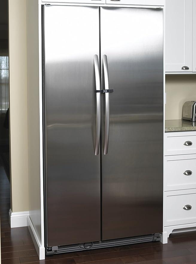 French Door Fridge Lock Refrigerator Door Lock Grey