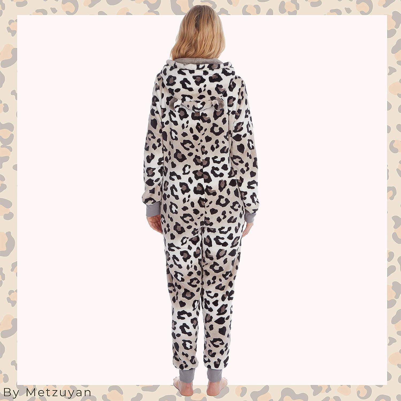 Tuta Intera da Donna con Giraffa Leopardata e Tigre Leopard 2 M//L Metzuyan
