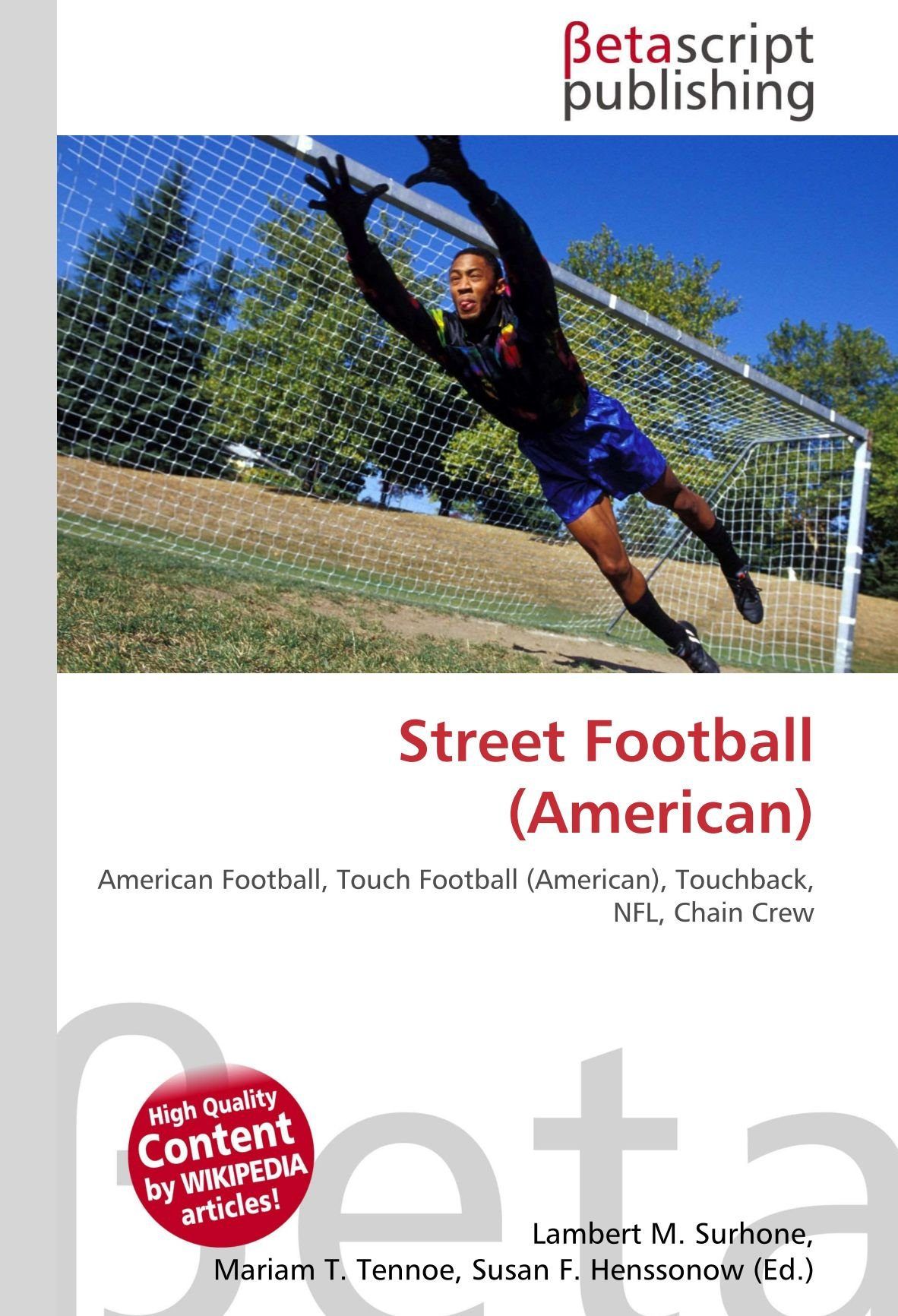 Street Football American : American Football, Touch Football ...
