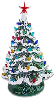 Porcelain Christmas Tree With Lights