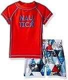 Nautica Baby Boys' Two Piece Rashguard Swim Set