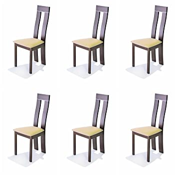 AHOC Dining Chair 2//4//6 Solid Wood Walnut Oak Leather Fabric Seat Made In Malaysia 2, Charlotte