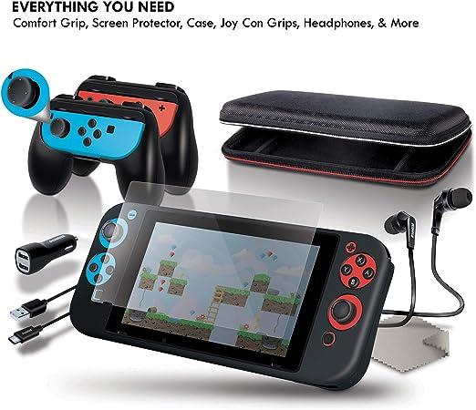 dreamGEAR Nintendo Switch Starter Bundle: Amazon.es: Electrónica