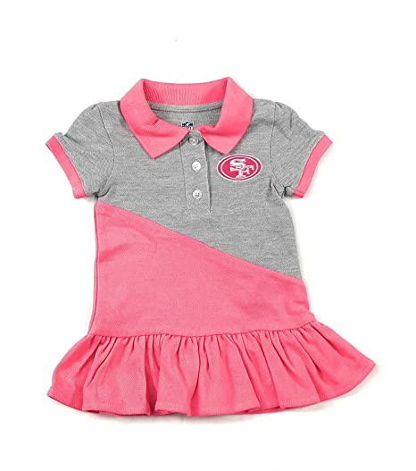 buy online ef2ac 99b5f Buy Outerstuff Outerstuff San Francisco 49ers Football Pink ...