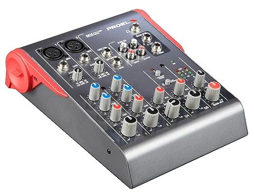 5 opinioni per Proel Mi6 mixer analogico per studio, live, karaoke, animazione