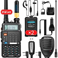 $59 » BaoFeng (UV-5R Pro) Ham Radio Walkie Talkie with 2 Rechargeable Battery, UHF/VHF Dual-Band 2…