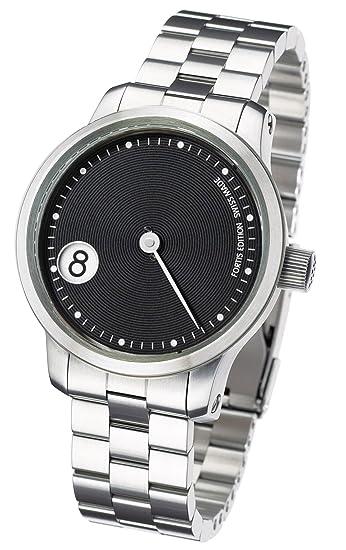 Fortis 710.20.33 M - Reloj de Pulsera Hombre, Acero Inoxidable, Color Plata