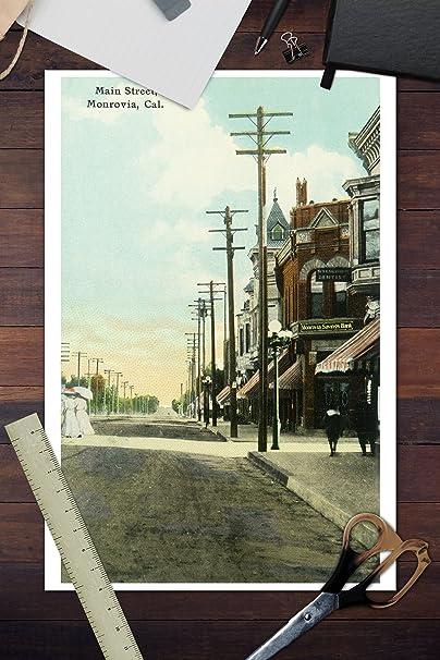 Monrovia, California View of Main Street