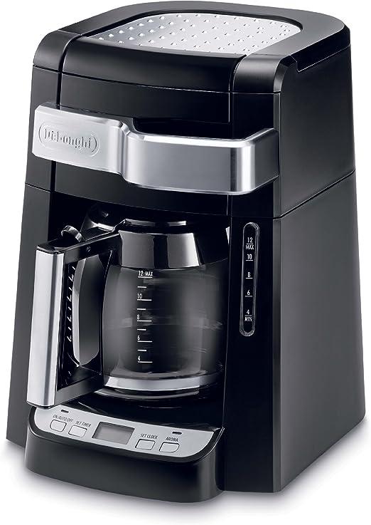 DeLonghi DCF2212T - Cafetera de filtro para 12 tazas de cristal ...