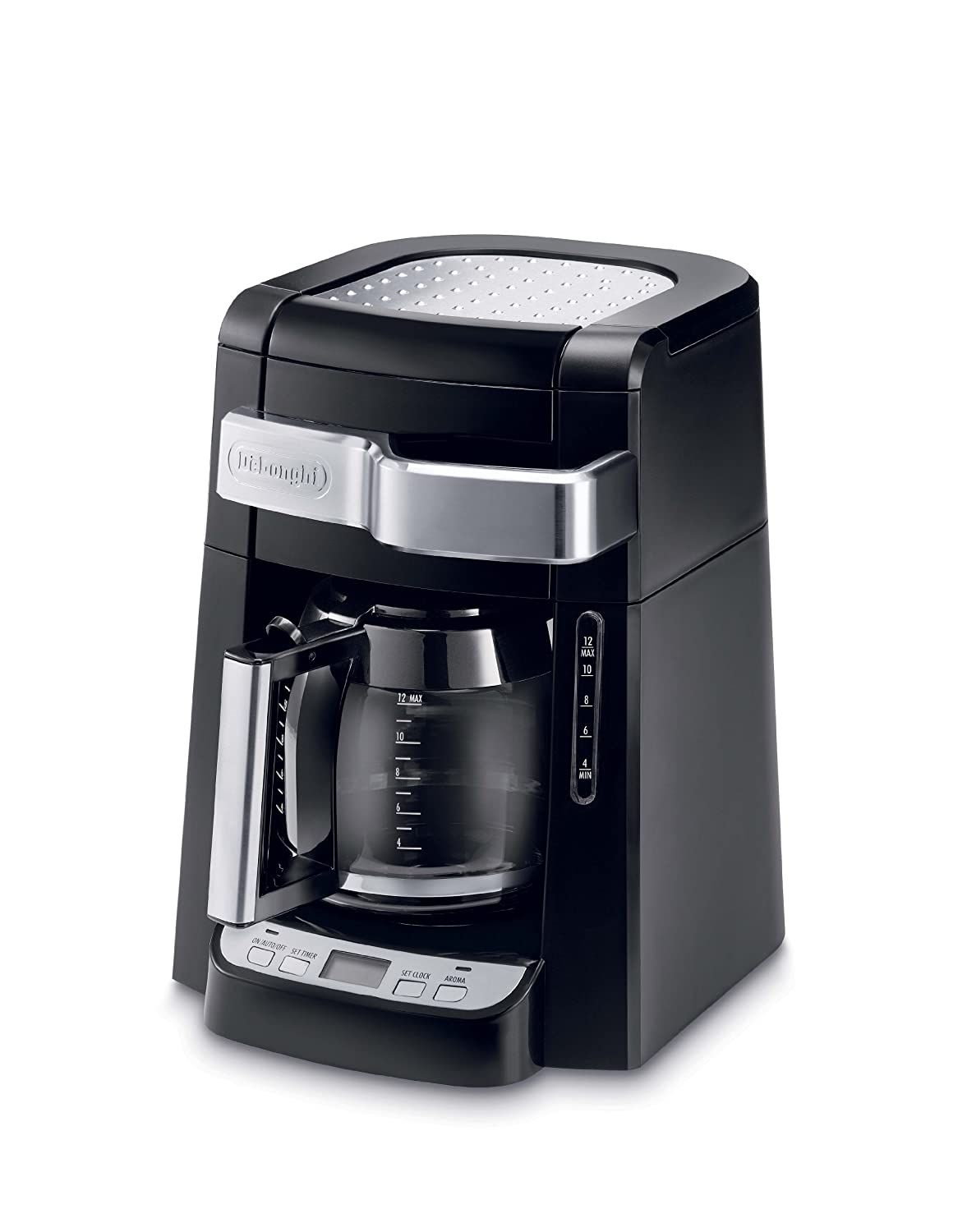 Delonghi Coffee Maker Glass Carafe : DeLonghi DCF2212T 12-Cup Glass Carafe Drip Coffee Maker, Black 44387422123 eBay