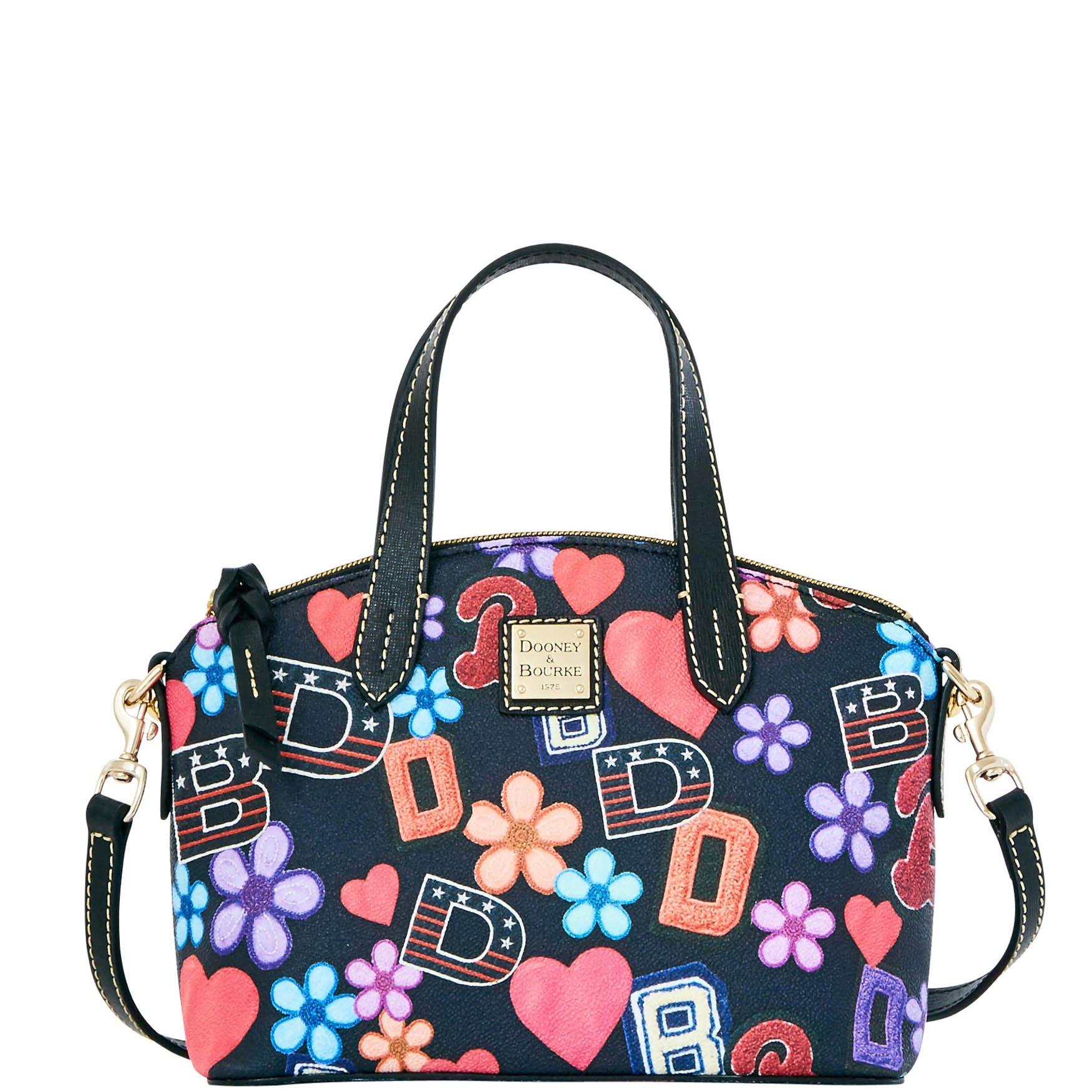 Dooney & Bourke Varsity Ruby Bag Top Handle Bag