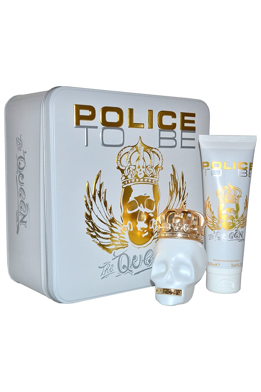 To Be The Queen by Police Eau de Parfum 75ml & Body Lotion 100ml