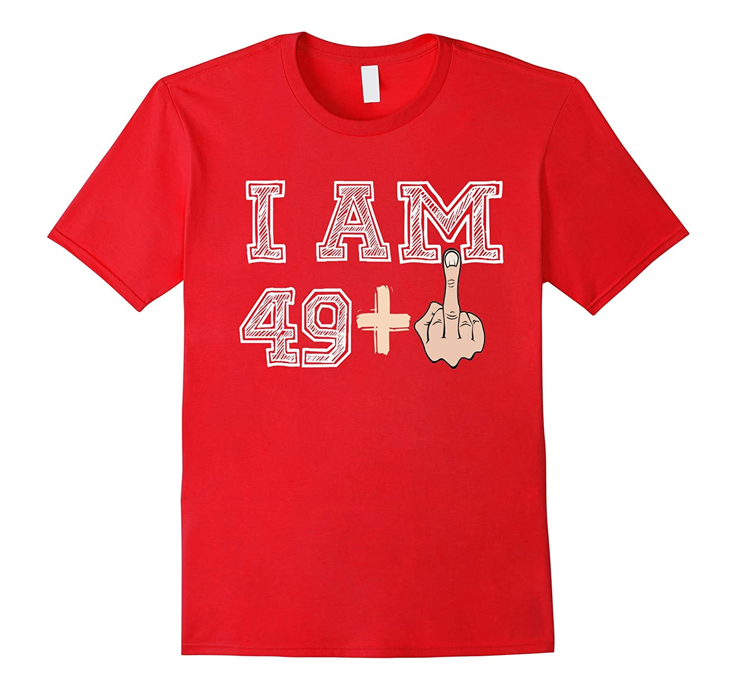 Mens 50th Birthday Gift Shirt 50 Years Old Funny T Ah My One Ahmyshirt