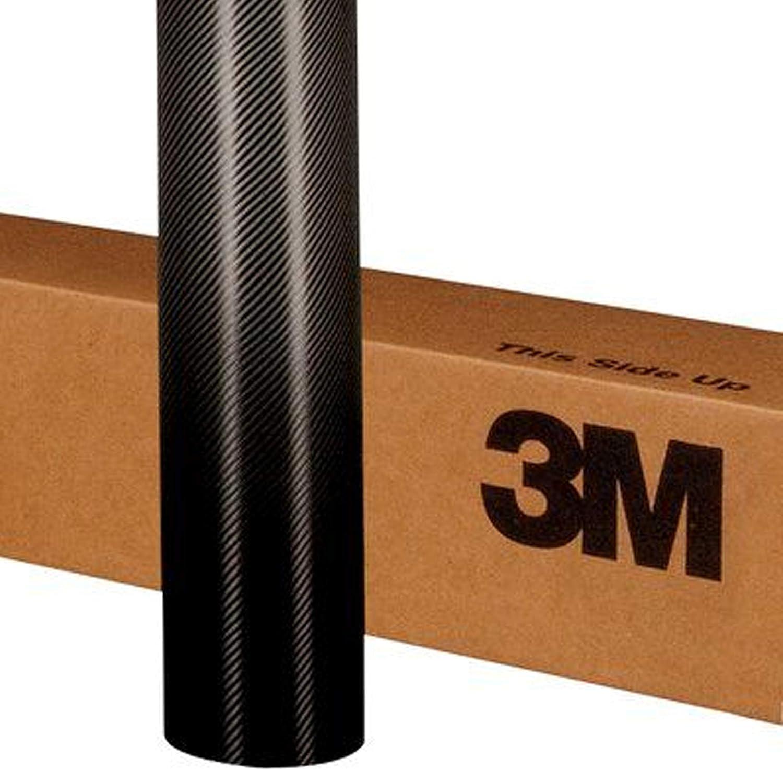 3M 1080 CF12 BLACK CARBON FIBER 5ft x 6ft (30 Sq/ft) Car Wrap Vinyl Film