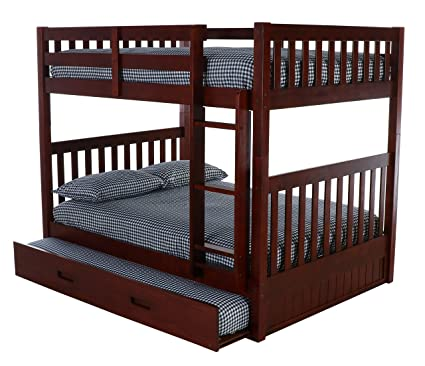 Amazoncom Discovery World Furniture Full Over Full Bunk Bed With