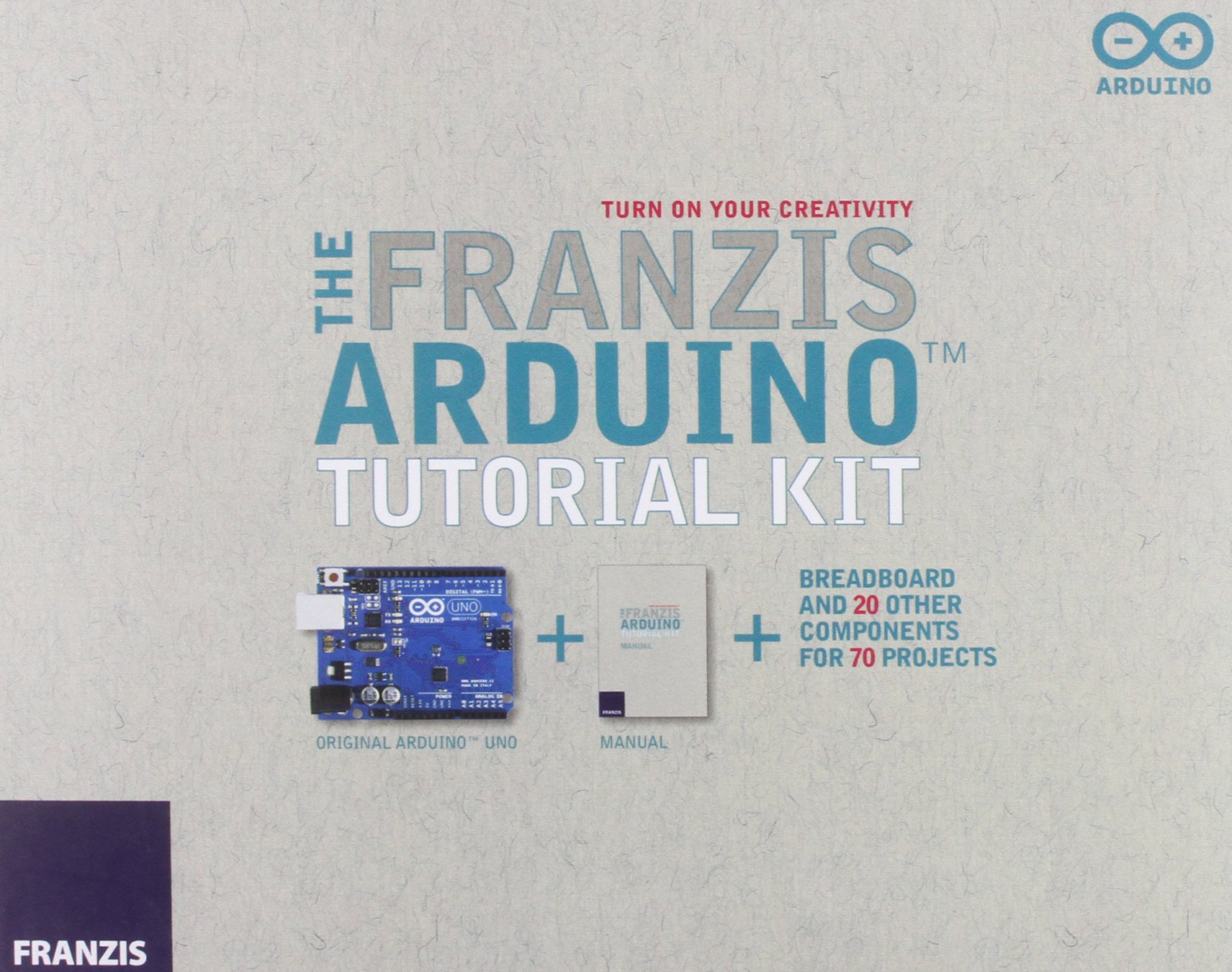 Franzis New Arduino Tutorial Kit & Manual: Amazon.es: Franzis Verlag GmBH: Libros en idiomas extranjeros