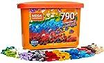 Caixa Core Blocos de Contar, 790 peças, Mega Construx, Mattel