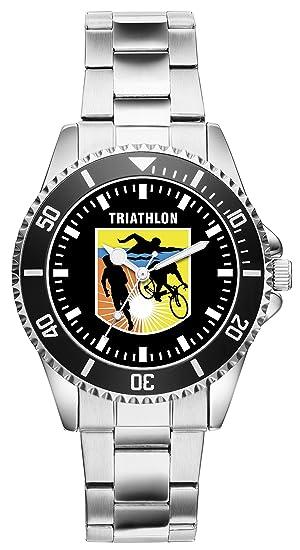 Triatlón regalo Fan Artículo accesorios Reloj 2657