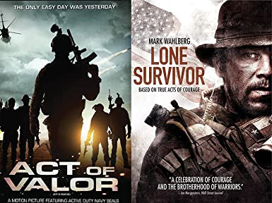 Amazon com: Lone Survivor True Story & Act of Valor War